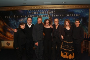 Carol Worthey, Patrick Culliton, Marty Kove, Joni Labaqui (ASI), David Carradine, Lee Purcell and Bob Caso (photo by ASI)