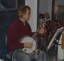 Bill Knopf, Banjo (photo by Ray Korns)