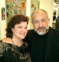 Carol Worthey / Gallery owner - Armen Atomts