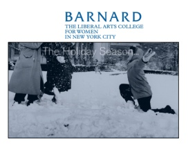 Barnard College Holiday Greeting