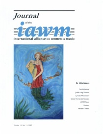 IAWM Journal, Cover Art by Carol Worthey