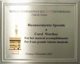 Carol Worthey Biennale Award