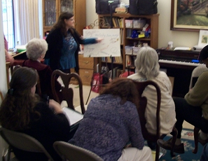 Carol Worthey at Inland Empire Valley Flute Society