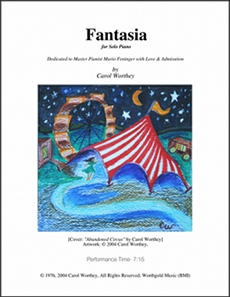 Worthey: 'Fantasia' for Solo Piano