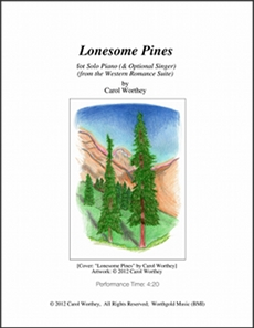Worthey: 'Western Romance Suite - Lonesome Pines'