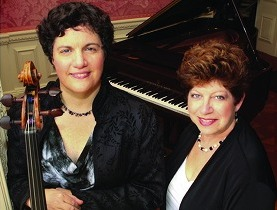 Suzanne Mueller, Cello; Elinor Abrams Zayas, Piano