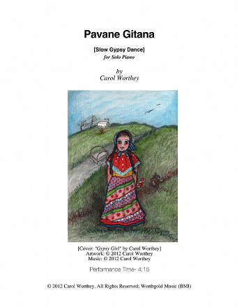 Pavane Gitana by Carol Worthey, Composer