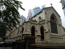 St. John's Cathedral, Hong Kong, China