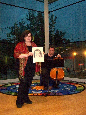 Carol Worthey, Composer; Maksim Velishkin, Cello