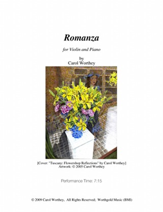 Romanza by Carol Worthey, Composer