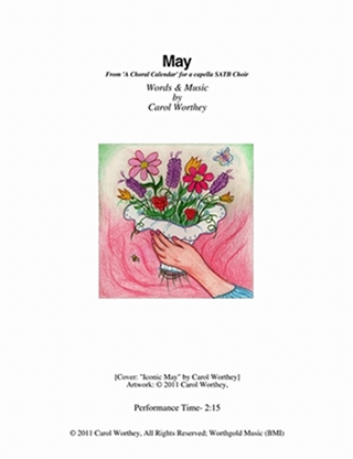A Choral Calendar - May cover