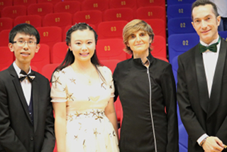Alice Concert Shenzhen - Stanley Wong and narrators