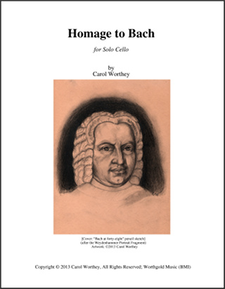 Homage to Bach Score Cover