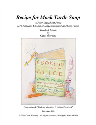 Recipe for Mock Turtle Soup - Score Cover